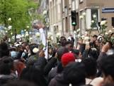 Tientallen komen bijeen om doodgestoken Myron (17) te herdenken
