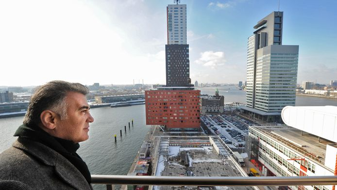 De Rotterdamse wethouder Hamit Karakus.