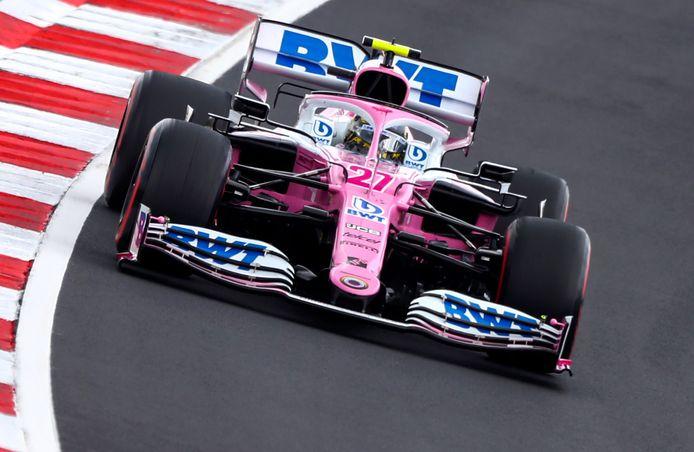 Nico Hulkenberg vorig jaar in actie namens Racing Point.
