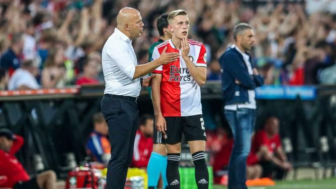 Feyenoord zonder Pedersen tegen NEC, Slot reageert gevat op Schmidt