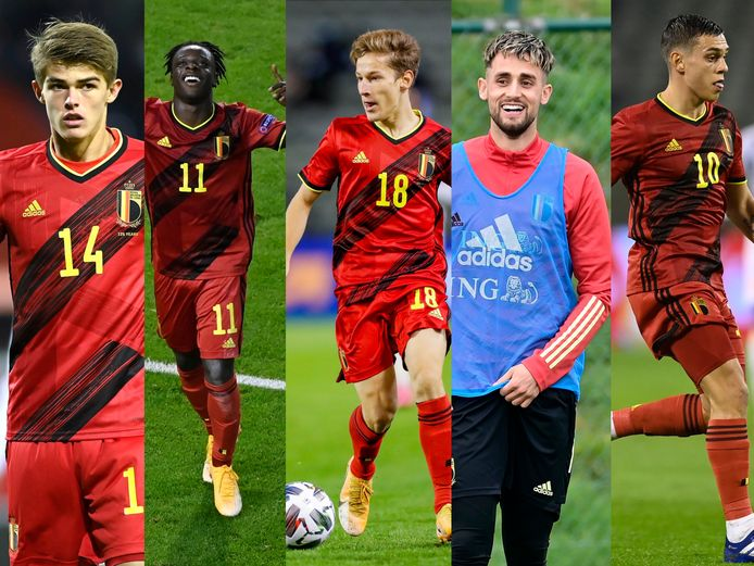 De Ketelaere, Doku, Verschaeren, Januzaj ou Trossard: lequel des cinq ira à l'Euro?
