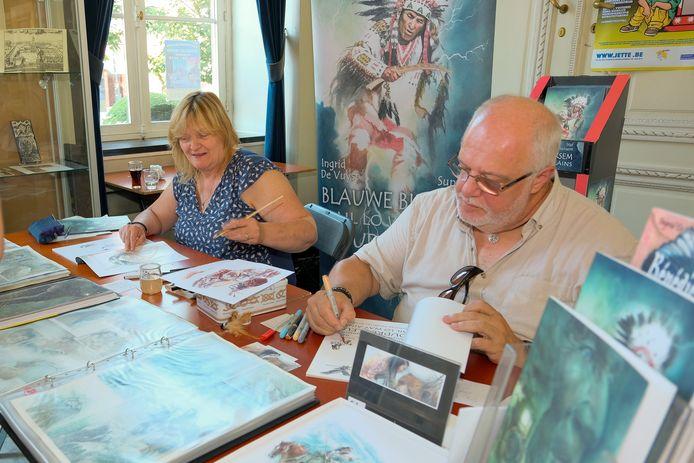 Stripfestival in Jette: auteurs signeren hun strips