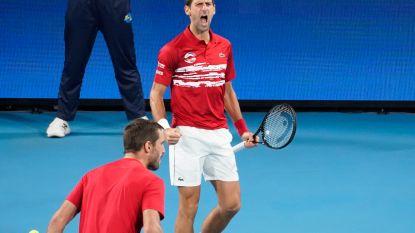 Servië pakt eindzege in ATP Cup na winst in afsluitend dubbelspel