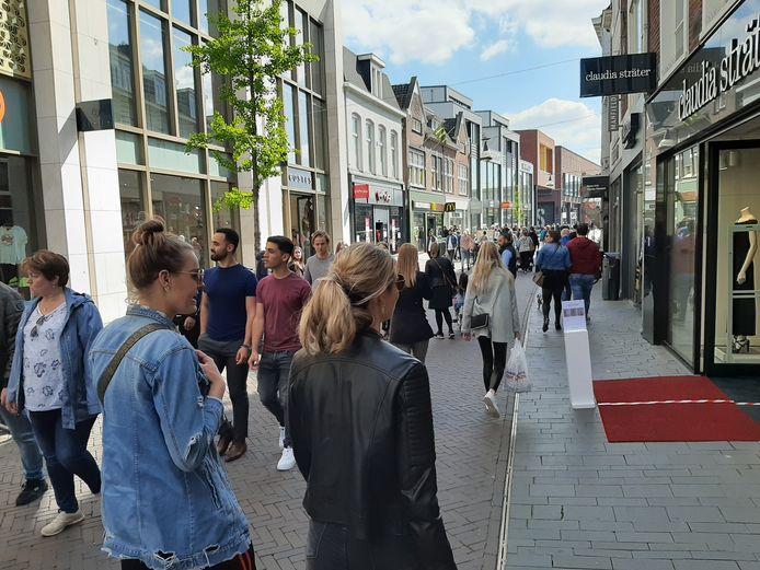 De winkel van Claudia Strãter aan de Kalanderstraat in Enschede.
