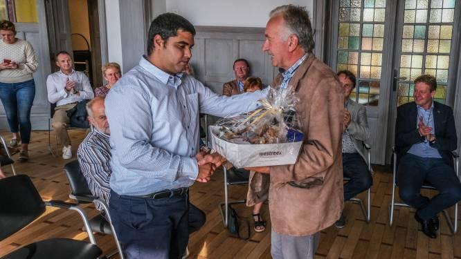 """Bronzenmedaillewinnaar Florian Van Acker plechtig ontvangen in gemeentehuis: """"Op naar de volgende Spelen in Parijs"""""""