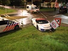 Bruiloftsgast bespuugt beveiligingsbeambte nadat peperdure Lamborghini crasht