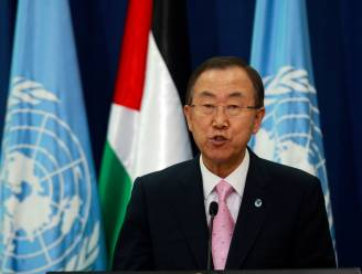 Dreigende taal van Ban Ki-moon richting Damascus