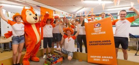 Lorentz Casimir Lyceum heeft weer de beste robot van Nederland