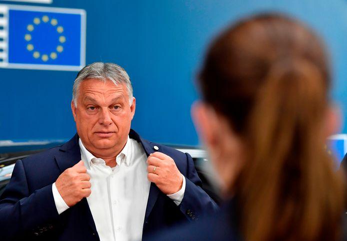 Viktor Orbán, premier van Hongarije en Europese dwarsligger.