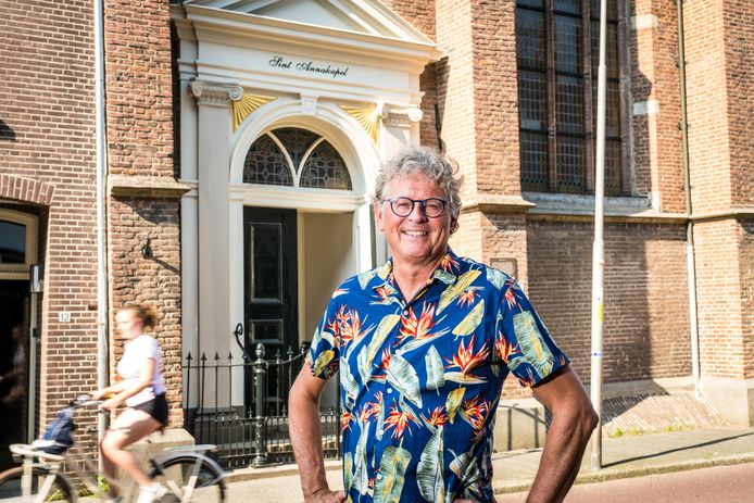 Gert Zomer, pastor zonder kerk, springt met een gespreksgroep in de bres voor lesbiënnes, homoseksuele mannen, biseksuelen en transgenders.