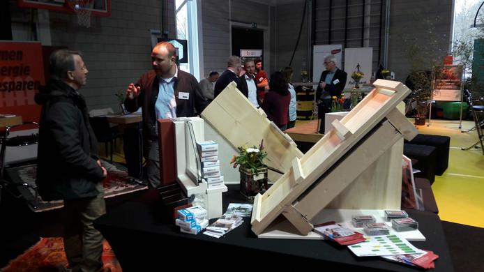 Impressie van het Wonen in Oss Event in de sportzaal van Fitland op de Talentencampus in Oss.