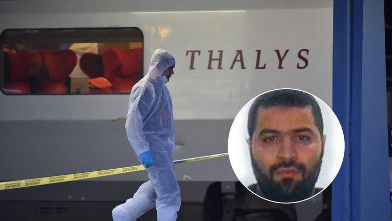 Eind oktober werd Mohammed Bakkali ook in verdenking gesteld voor de mislukte aanslag in de Thalys, op 21 augustus 2015. Beeld AFP