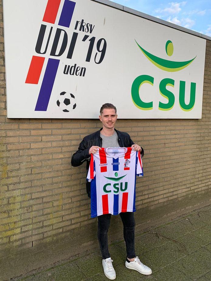 Dennis Janssen speelt vanaf komend seizoen bij UDI'19.