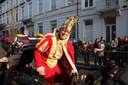 Een archiefbeeld van drievoudig Prins Carnaval Michel Cleemput in de stoet.