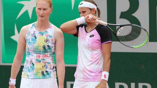 Van Uytvanck niet in Fed Cup-selectie door relatiebreuk met Greet Minnen?