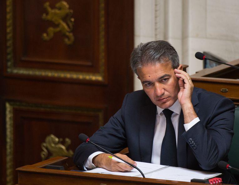 Emir Kir, PS-Kamerlid en burgemeester van Sint-Joost-ten-Node. Beeld BELGA