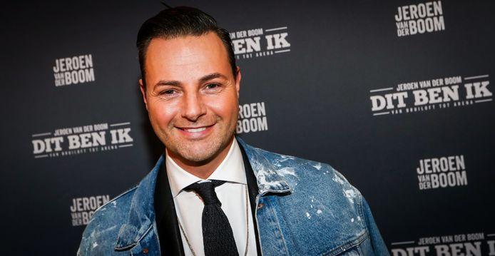 Fred van Leer tijdens de première van de theatershow Dit Ben Ik.
