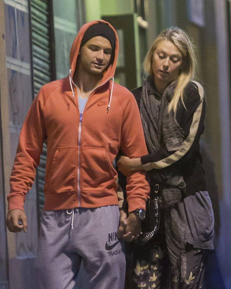 Maria Sharapova en Grigor Dimitrov in Madrid.