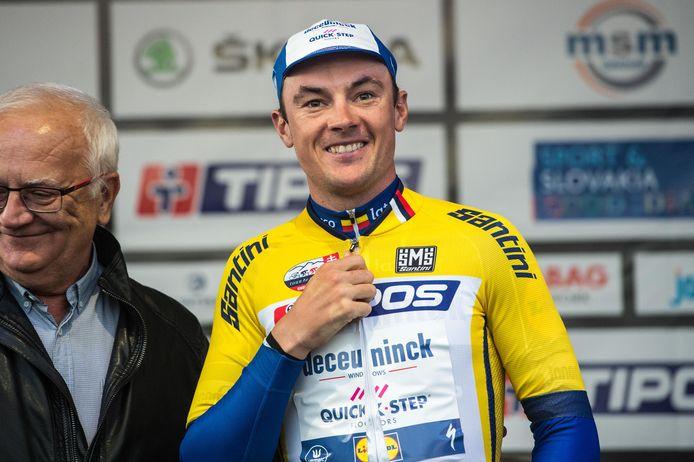 Yves Lampaert is de nieuwe leider in de Ronde van Slowakije.