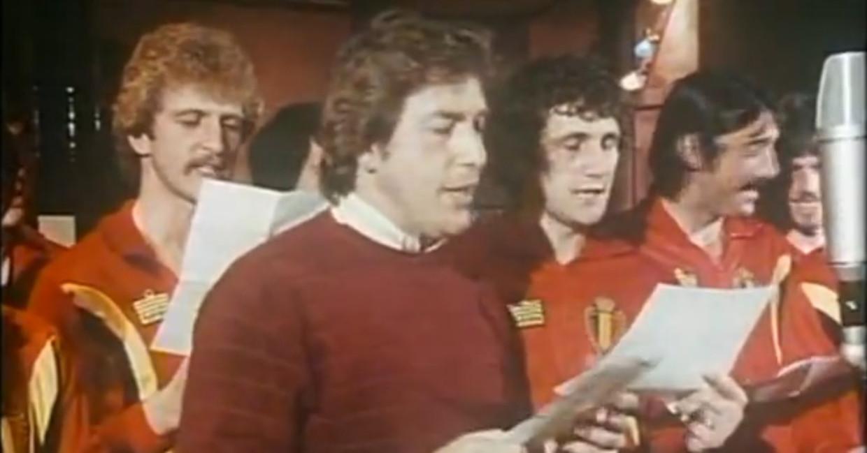 Will Tura moedigt de Rode Duivels aan voor hun avontuur op het WK in Spanje. Beeld Screenshot YouTube