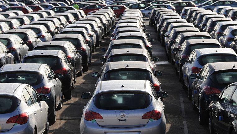 Opel Astra's. Beeld AFP