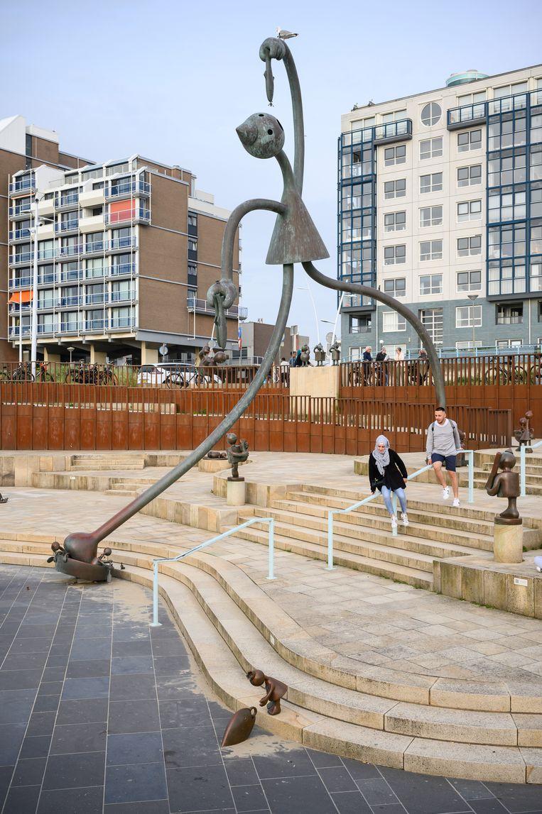 Sculpturen bij MBaZ Beeld Tom Philip Janssen