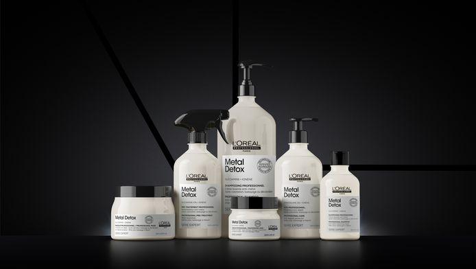 Le protocole Metal Detox de L'Oréal en salon et à la maison.