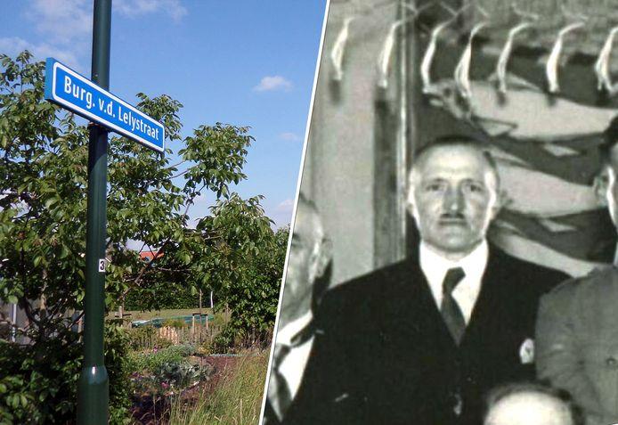 Oud-burgemeester Jacob van der Lely van Woudrichem. Naar hem is ook een straat vernoemd. In 1941 werd de Zandsteeg omgedoopt tot Burgemeester van der Lelystraat.