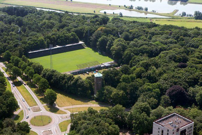 De Graafschap belegt een trainingskamp op De Wageningse Berg.