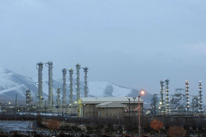 De kerncentrale van Arak, op zo'n 250 kilometer van de Iraanse hoofdstad Teheran.