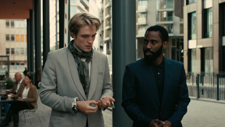 Robert Pattinson en John David Washington in 'Tenet'
