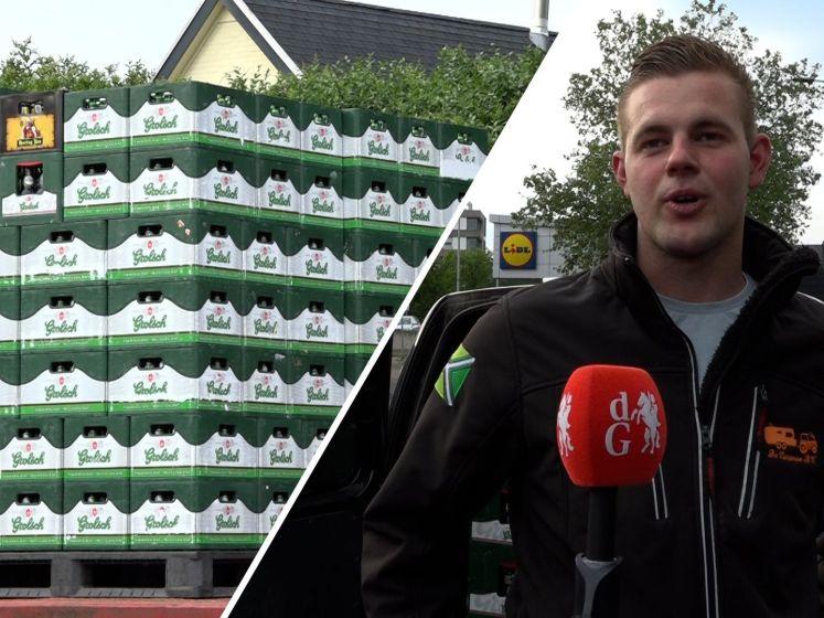 600 kratten bier ingeslagen door Achterhoekse vriendengroep