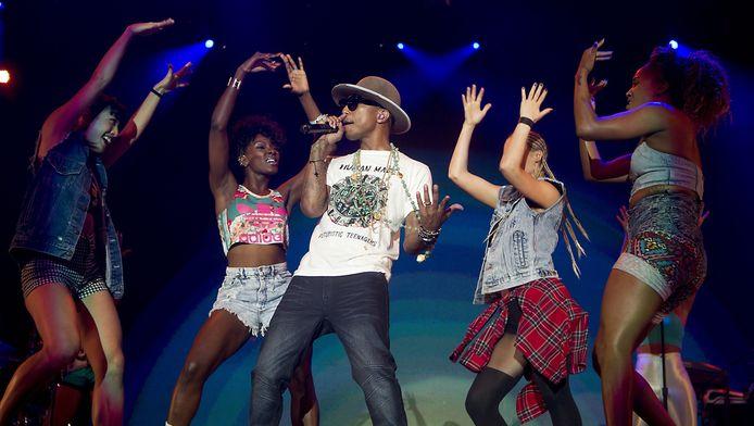 Rapper Pharrell Williams stond in 2014 ook op North Sea Jazz.