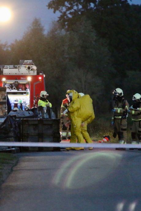 Megadumping van 21.000 liter drugsafval in lekkende vaten bij Beers: 'Dit valt in de categorie heel groot'