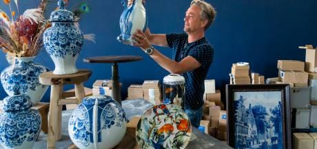 Fabriekswinkel met koopjeshoek voor Delfts Blauw aardewerk opent in Putten