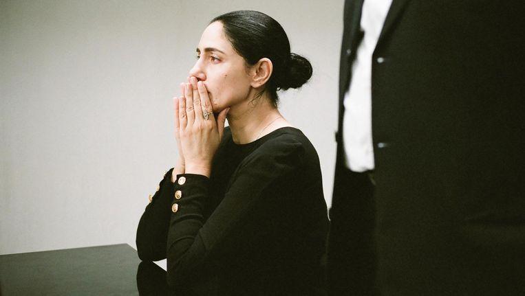 Ronit Elkabetz in Gett, The Divorce Trial of Viviane Amsalem. Beeld null