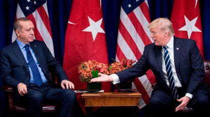 Erdogan en Trump telefoneren met elkaar