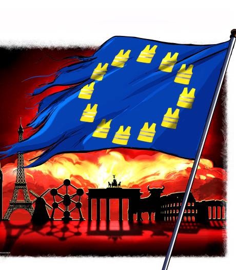 Europa in de problemen: het kraakt, piept, schuurt en wringt