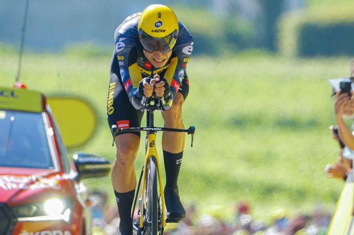 Trois victoires d'étape et le podium final: le bilan de Wout Van Aert et ses équipiers sur ce Tour, malgré l'abandon précoce de Primoz Roglic.