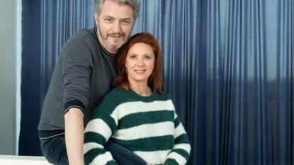"""Na 20 jaar samen acteren kennen Sandrine André en Kürt Rogiers elkaar door en door: """"Ik heb zijn vrouw meteen duidelijk gemaakt dat ik geen bedreiging ben"""""""