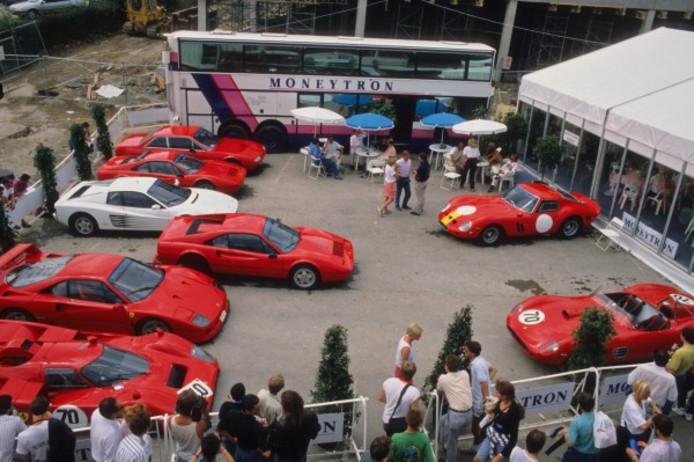 Enkele auto's uit de collectie van Jean-Pierre van Rossem