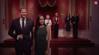 Dat was snel: Madame Tussauds verplaatst wassen beelden Harry en Meghan