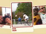Peter Sagan ook voetbalfan