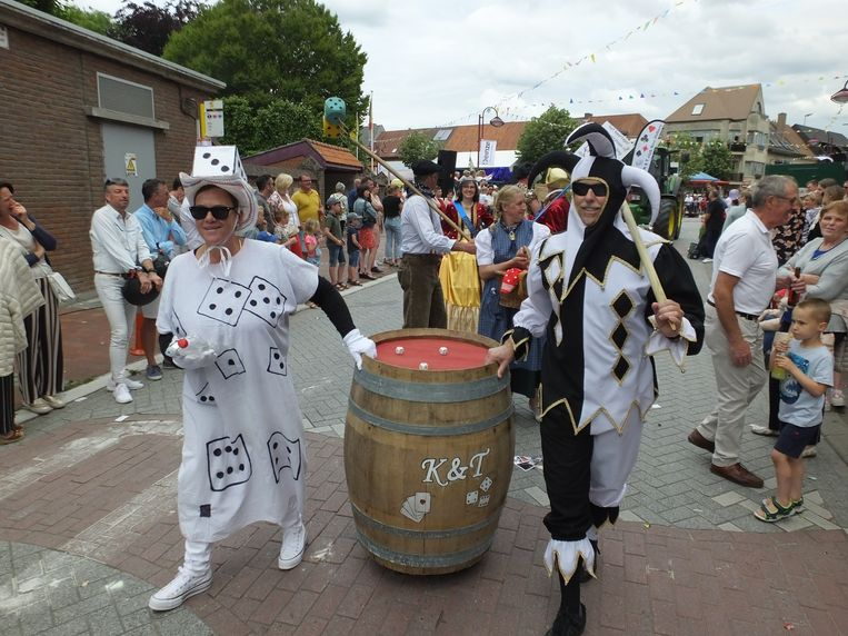 Ook K&T-club Sint-Hubert uit Petegem kwam naar Nevele afgezakt.