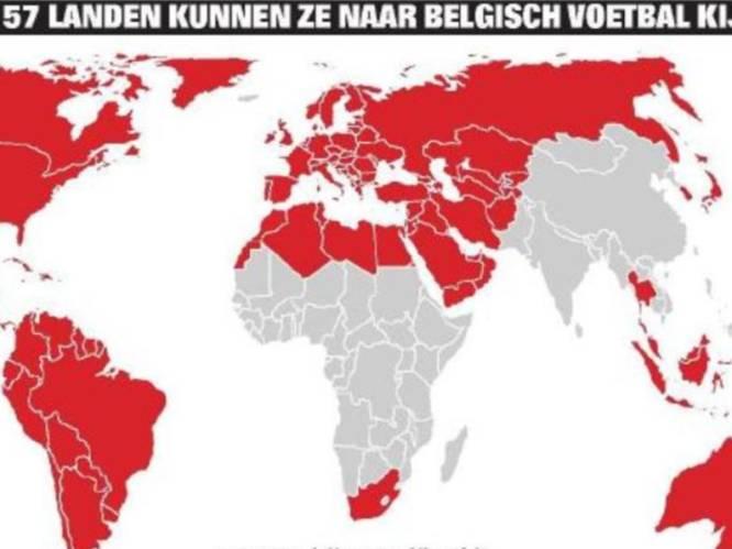 """En plots kunnen ze in 157 landen naar Belgisch voetbal kijken: """"Meer geld en meer aanzien voor onze clubs"""""""