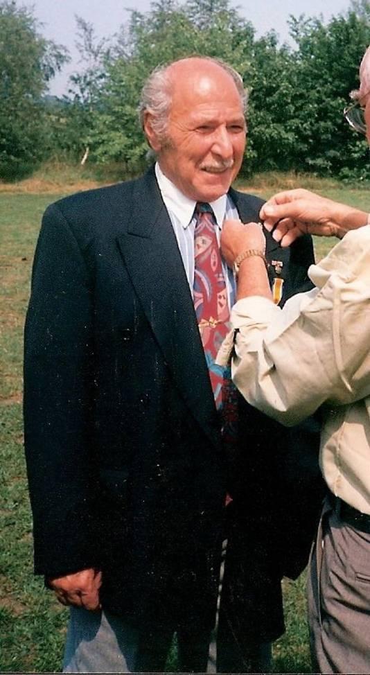 Mamed Mamedov, Azerbeidzjaan in Oisterwijk, wordt koninklijk onderscheiden.