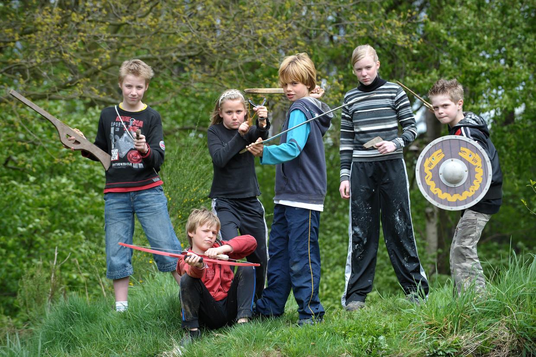 'Kinderen die buiten spelen, dat bestaat niet meer' Beeld Digital images