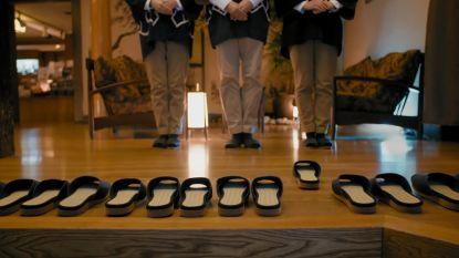 Japans hotel verrast gasten met 'zelfrijdende'pantoffels