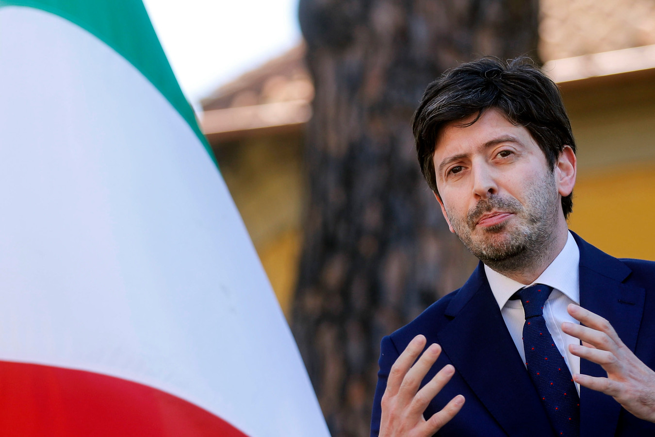 Roberto Speranza, ministre de la Santé italien.