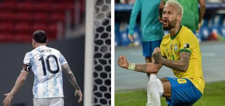 Messi-Neymar en finale de la Copa America, au firmament du foot sud-américain